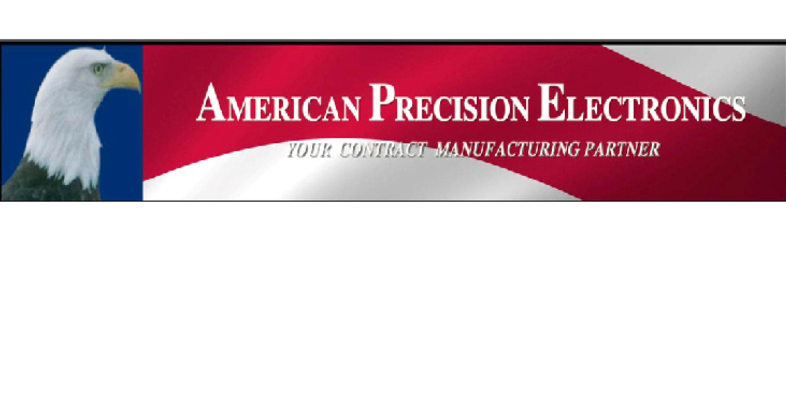 American Precision Electronics logo